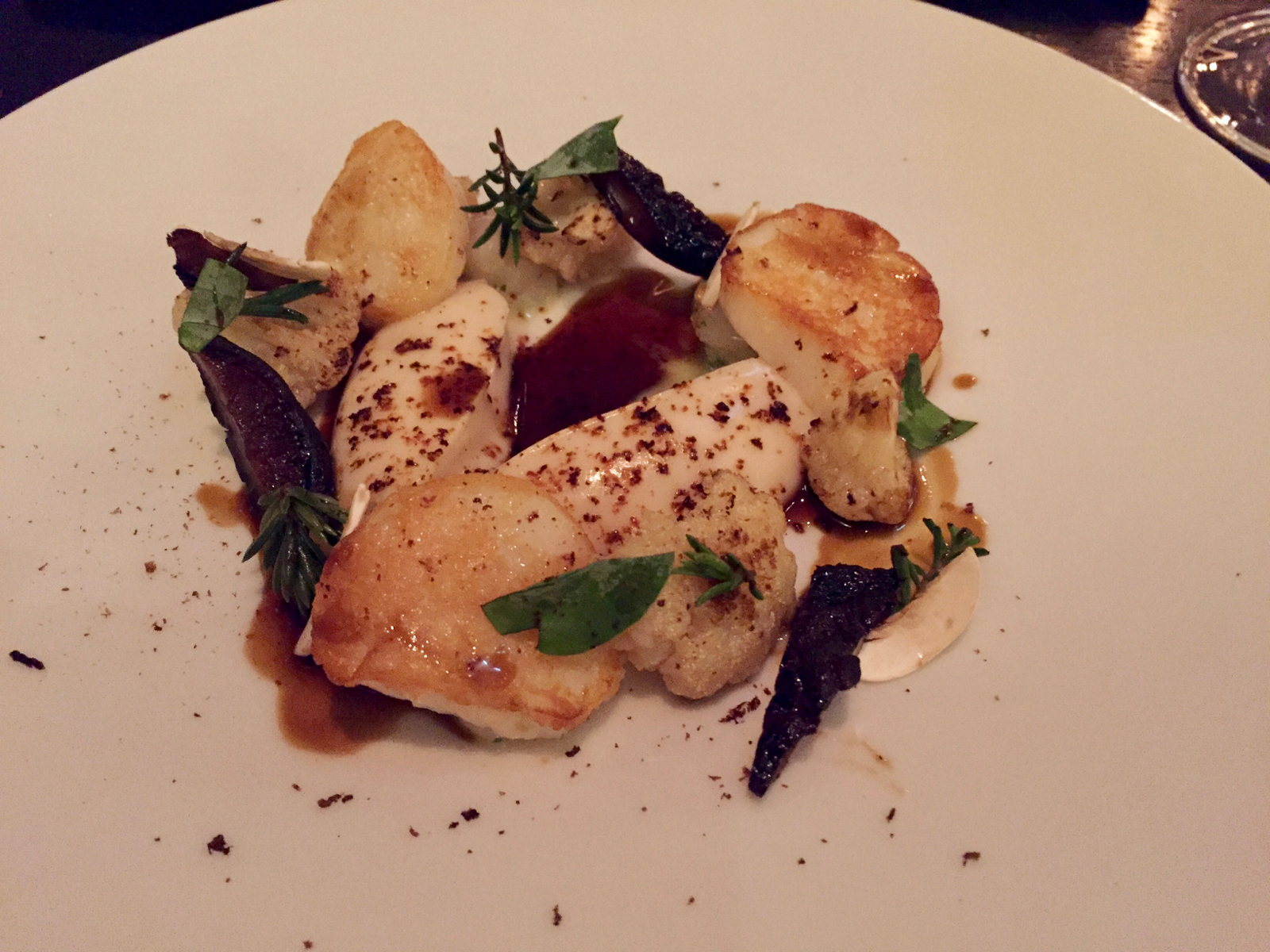 Sherried Scallop at Dinner by Heston Knightsbridge