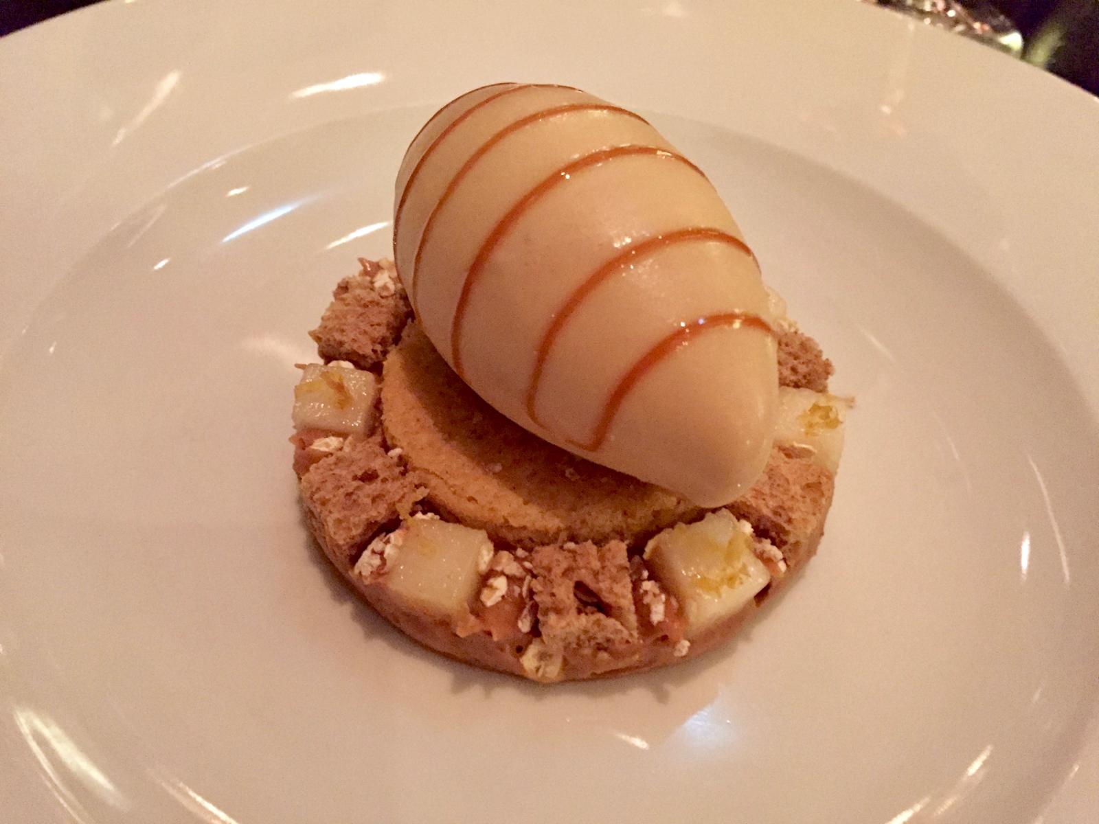 Brown Bread Ice Cream at Dinner by Heston Knightsbridge