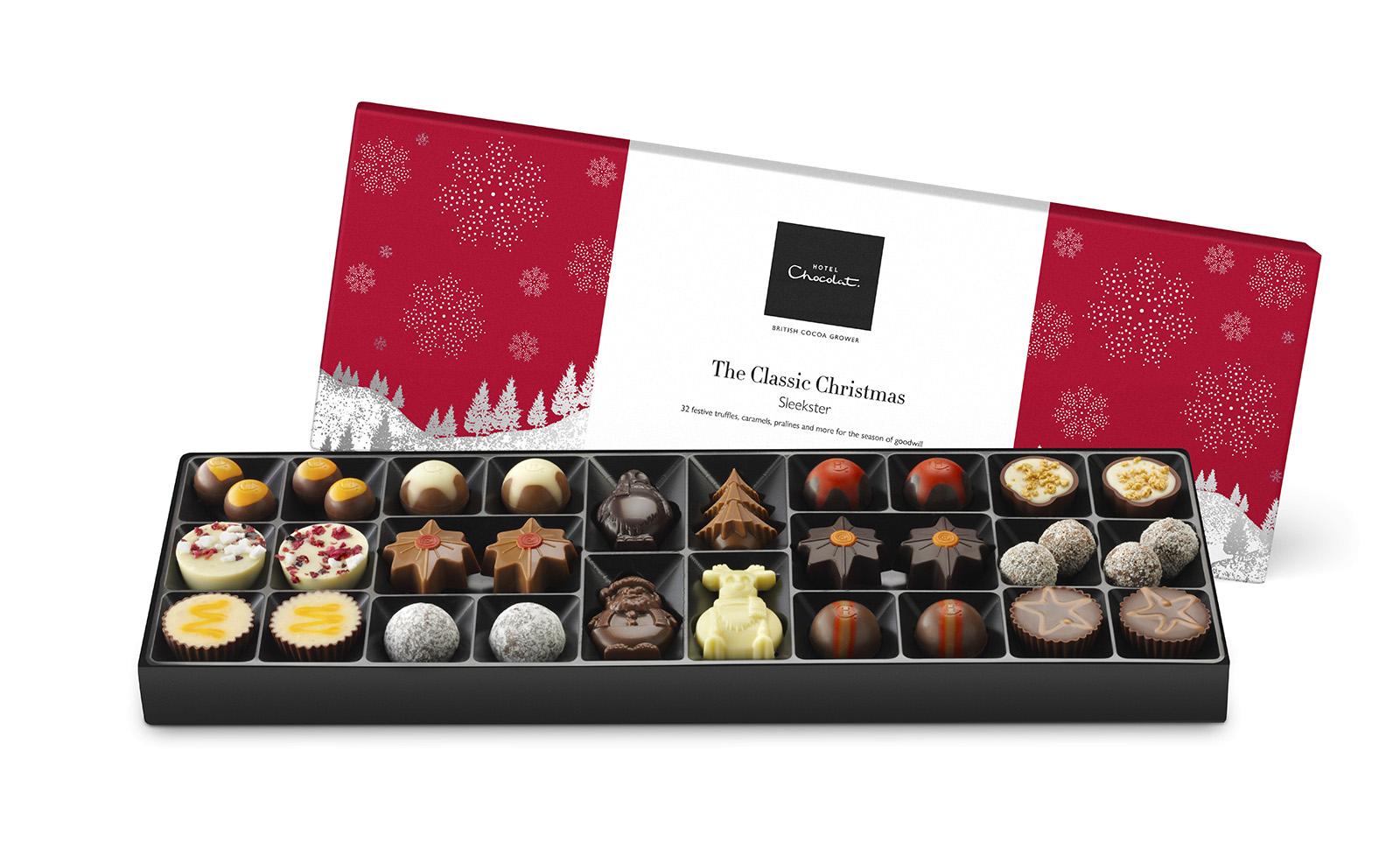 Christmas Sleekster from Hotel Chocolat