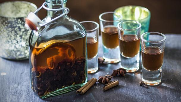Christmas Pudding Vodka (image credit: BBC Food)