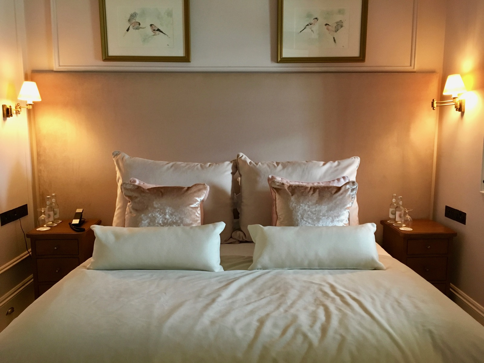 Lympstone Manor - The Bullfinch Room