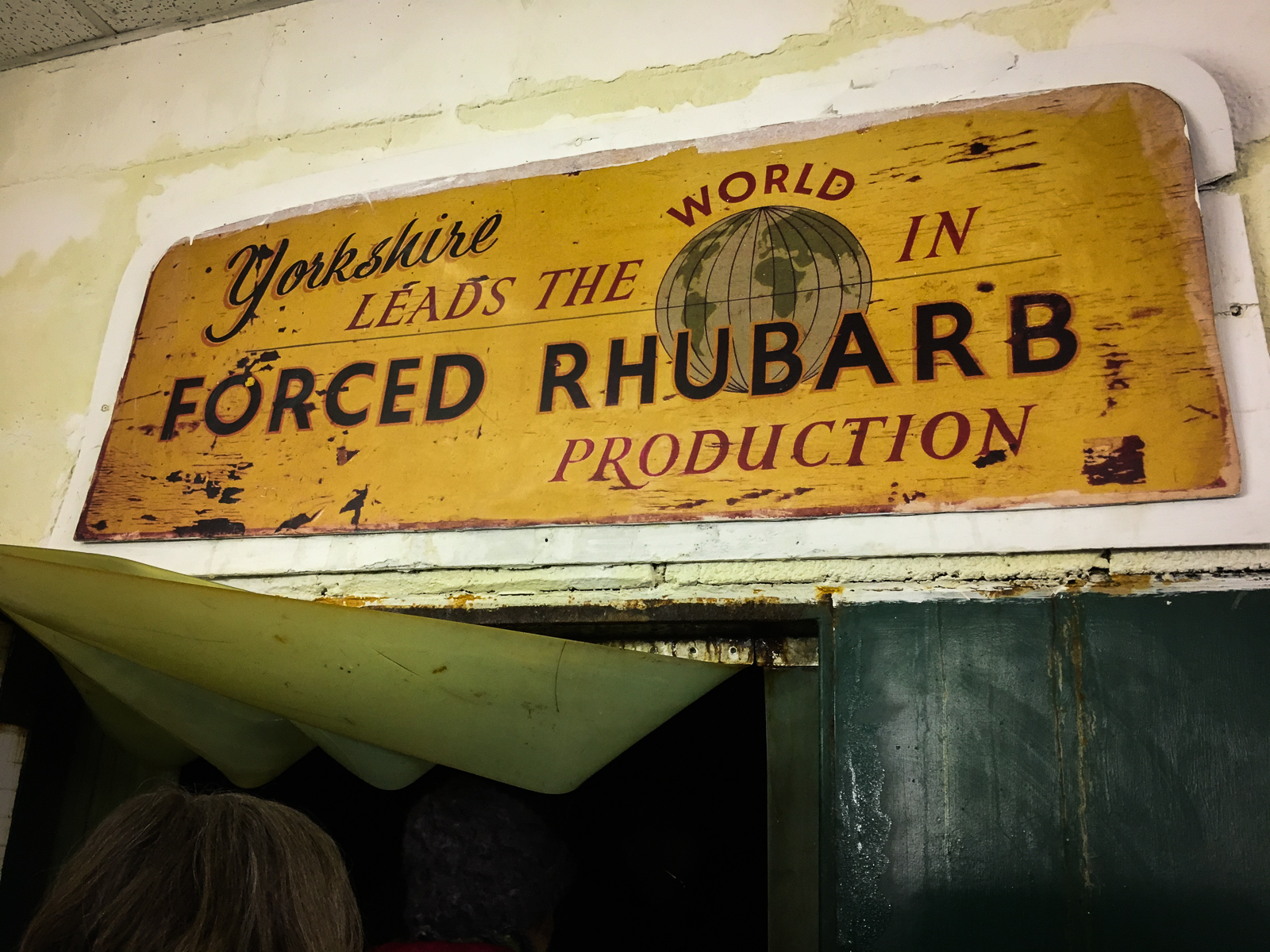 Oldroyd and Sons Yorkshire Rhubarb Forcing Shed Entrance