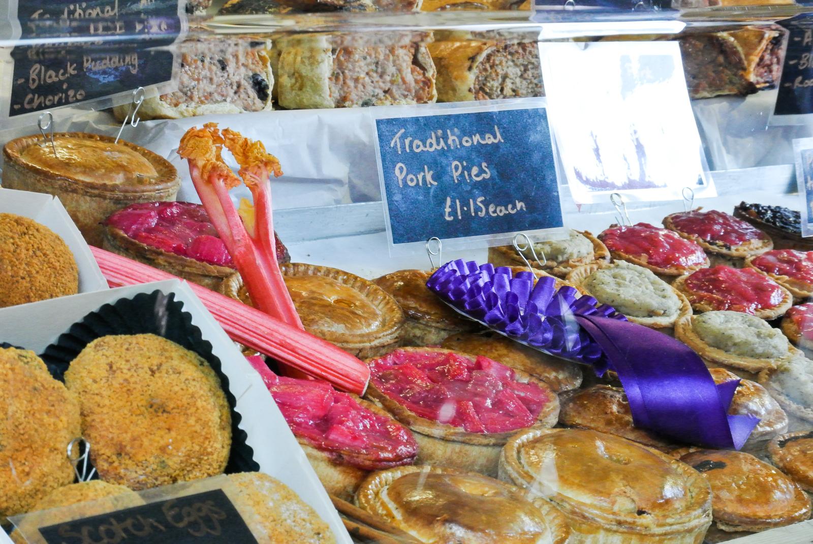 Rhubarb Pork Pies Wakefield Food and Drink Festival