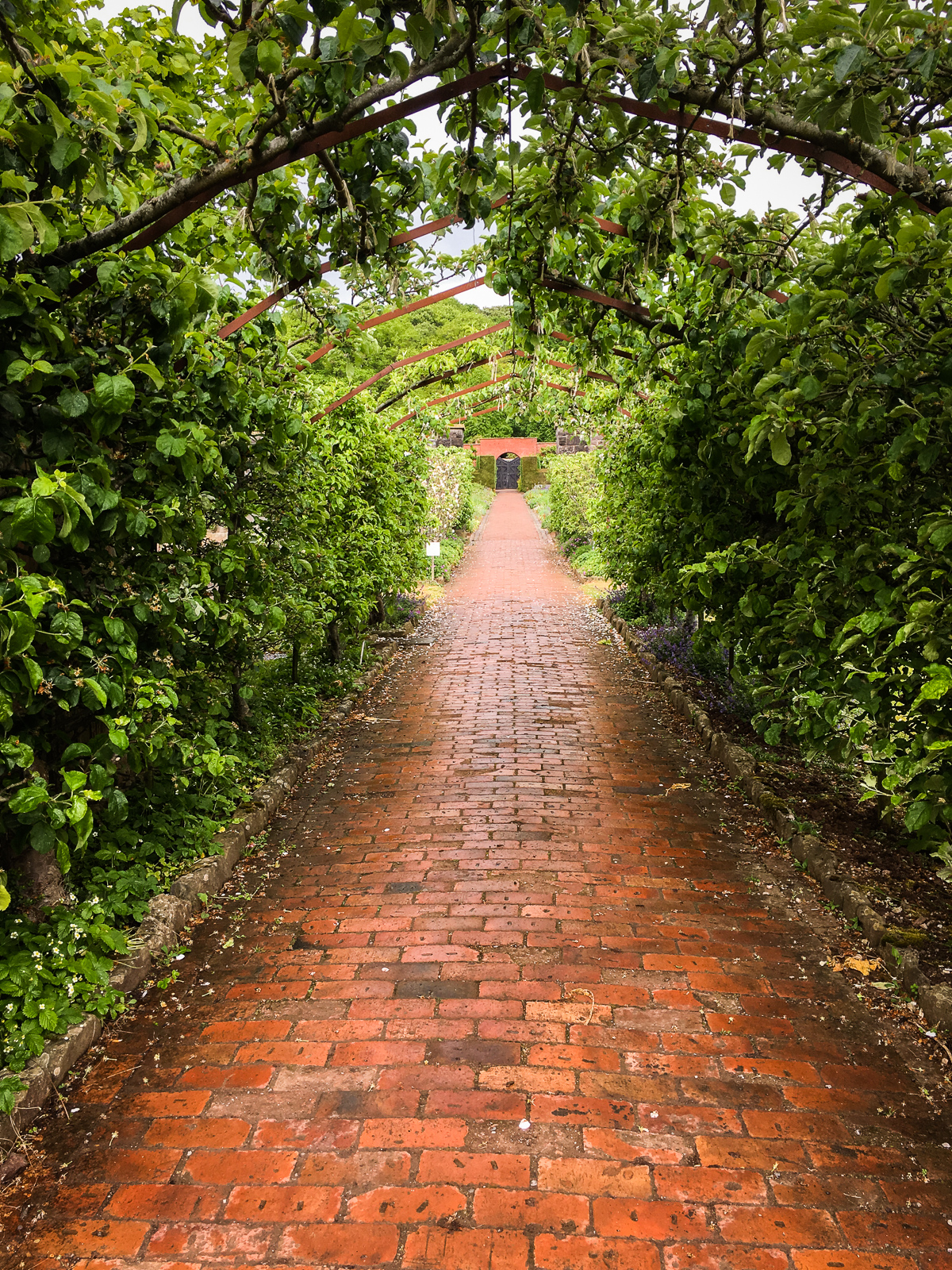 The Ethicurean Covered Garden Path