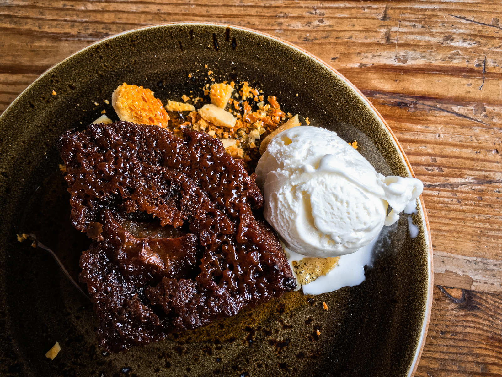 The Ethicurean Sticky Toffee Apple Cake