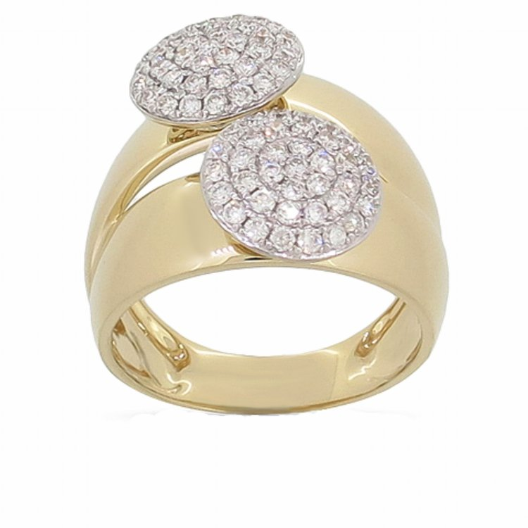ER01256  -  0.75 ct 14K Set In Yellow Gold.    List Price: $3,628      Our Price: $2,899
