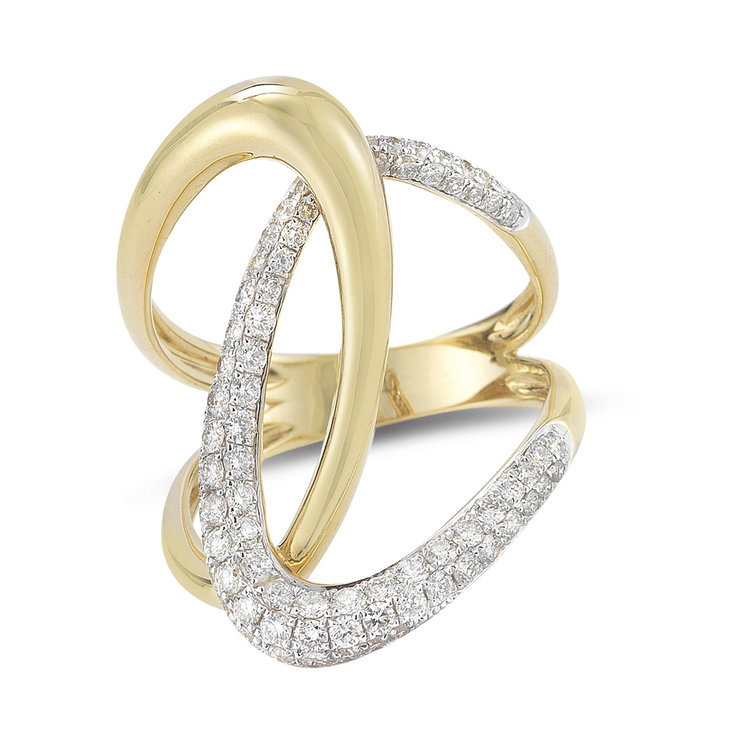 R01227  -  0.85 ct, 14K Set In Yellow Gold.    List Price: $3,600      Our Price: $2,880