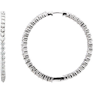 Hoops  -  1 ctw Diamond Hoops Starting At   $1,599    2 ctw Diamond Hoops Starting At  $2,257   3 ctw Diamond Hoops Starting At   $2,972