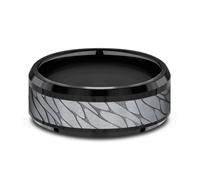 CF108815BKTGTA  - 8 mm Black Tungsten Band.  List Price: $615    Our Price: $410