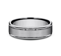 RECF7602STG  - 6 mm Tungsten Band.  List Price: $258    Our Price: $172