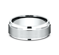 CF68486  - 7 mm 14K White Gold Band.  List Price: $1,233    Our Price: $822