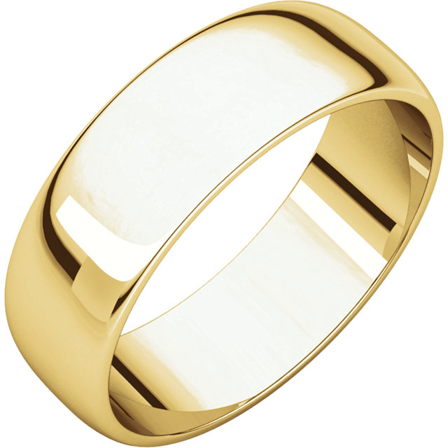 Bands can be made in 10K, 14K and 18K gold. Prices change daily and are controlled by the gold market. Call or visit our store for details and pricing for this piece.
