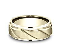 CF68319Y  - 8 mm 14K Yellow Gold Band.    List Price: $1,374      Our Price: $916