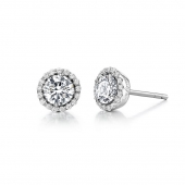 April Birthstone Stud Earrings  List Price: $135    Our Price $108