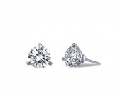 2.56 ct Martini Stud Earrings.  List Price: $$85     Our Price: $68