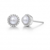 June Birthstone Stud Earrings.  List Price: $135    Our Price: $108