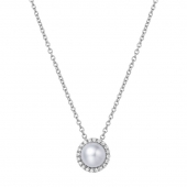June Birthstone Necklace.    List Price: $130      Our Price: $104