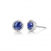 September Birthstone Stud Earrings.  List Price: $135    Our Price: $108