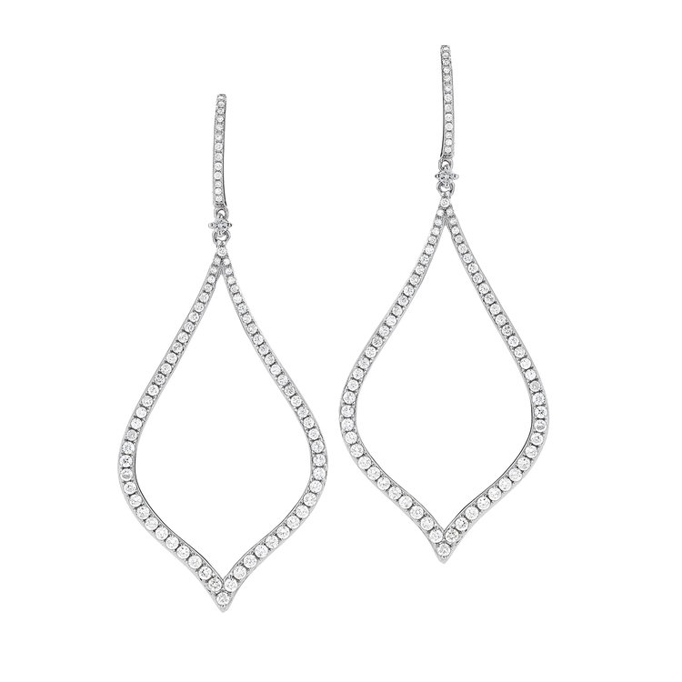EE00672  - 1.51 ct Set In 14K White Gold Earrings.    List Price: $5,568      Our Price: $4,454
