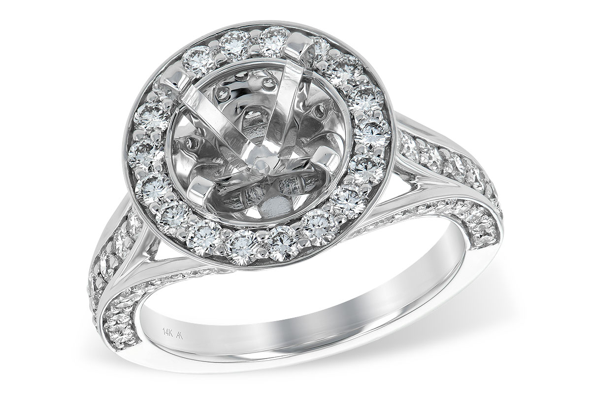 L7245  - 1.48 ct Set In 14K White Gold.    List Price: $6,876      Our Price: $4,999