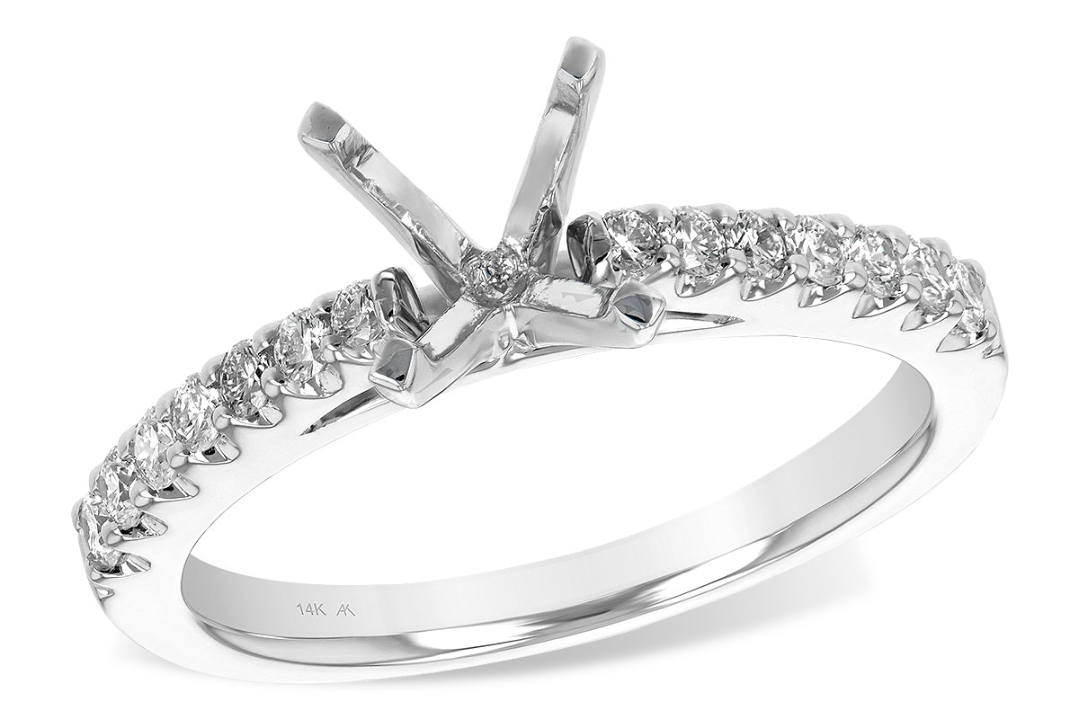 L7321  - 0.32 ct Set In 14K White Gold.    List Price: $1,884      Our Price: $1,507