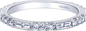 LR4572W44JJ  – 0.58ct Set In 14K White Gold.  List Price: $1,670