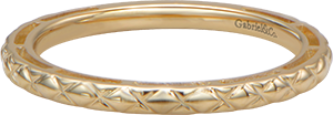LR4583Y4JJJ  – 14K Yellow Gold Band.  List Price: $300