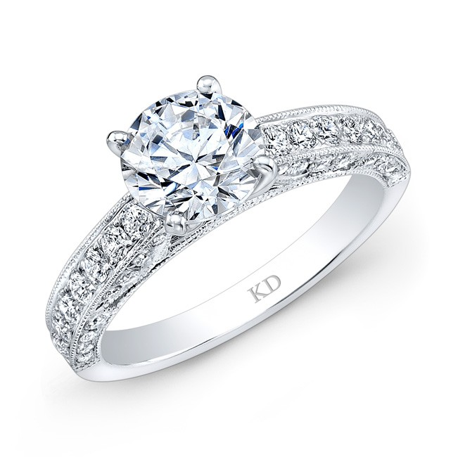 ARD0657  - 0.69 ct Set In 18K White Gold.      Call For Pricing