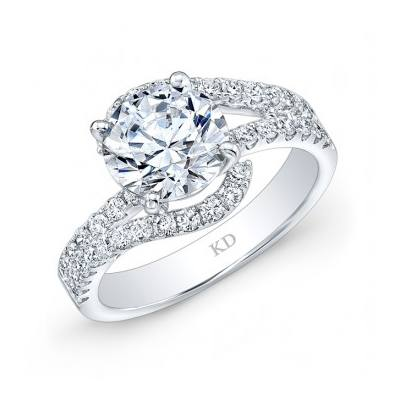 GDR381  - 0.50 ct Set In 18K White Gold.    List Price: $2,835      Our Price: $2,268