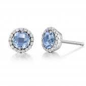 March Birthstone Earrings.  List Price: $135    Our Price: $108