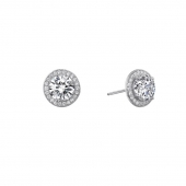 Halo Earrings.  List Price: $145    Our Price: $116