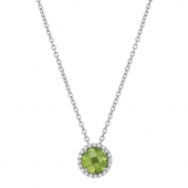 August Birthstone Necklace.  List Price: $130    Our Price: $104