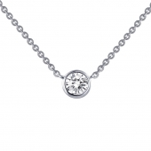 Bezel Necklace.    List Price: $85       Our Price: $68