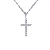 Cross Necklace.    List Price: $125      Our Price: $100