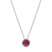 July Birhtstone Necklace.  List Price: $130    Our Price: $104
