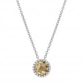 November Birthstone Necklace.  List Price: $130    Our Price: $104