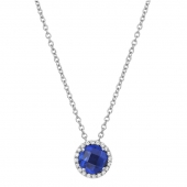 September Birthstone Necklace.  List Price: $130    Our Price: $104