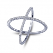 Crossover Fashion Ring    List Price: $125      Our Price: $100