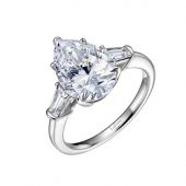 Pear Shape Fashion Ring.    List Price: $145      Our Price: $116