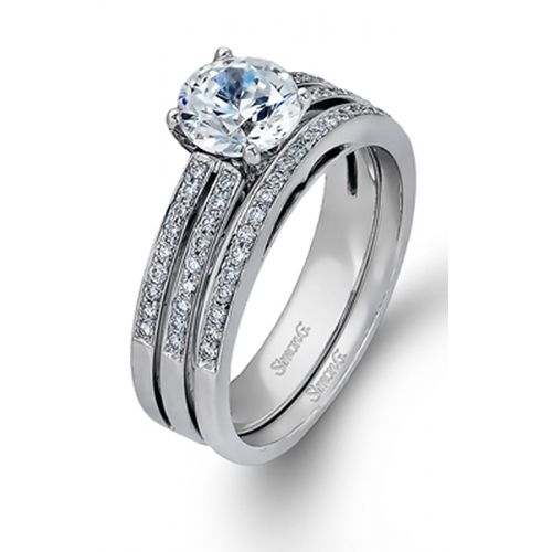 DR139  - 0.31 ct Set In 18K White Gold.    List Price: $2,750       Our Price: $2,199 (for the set)