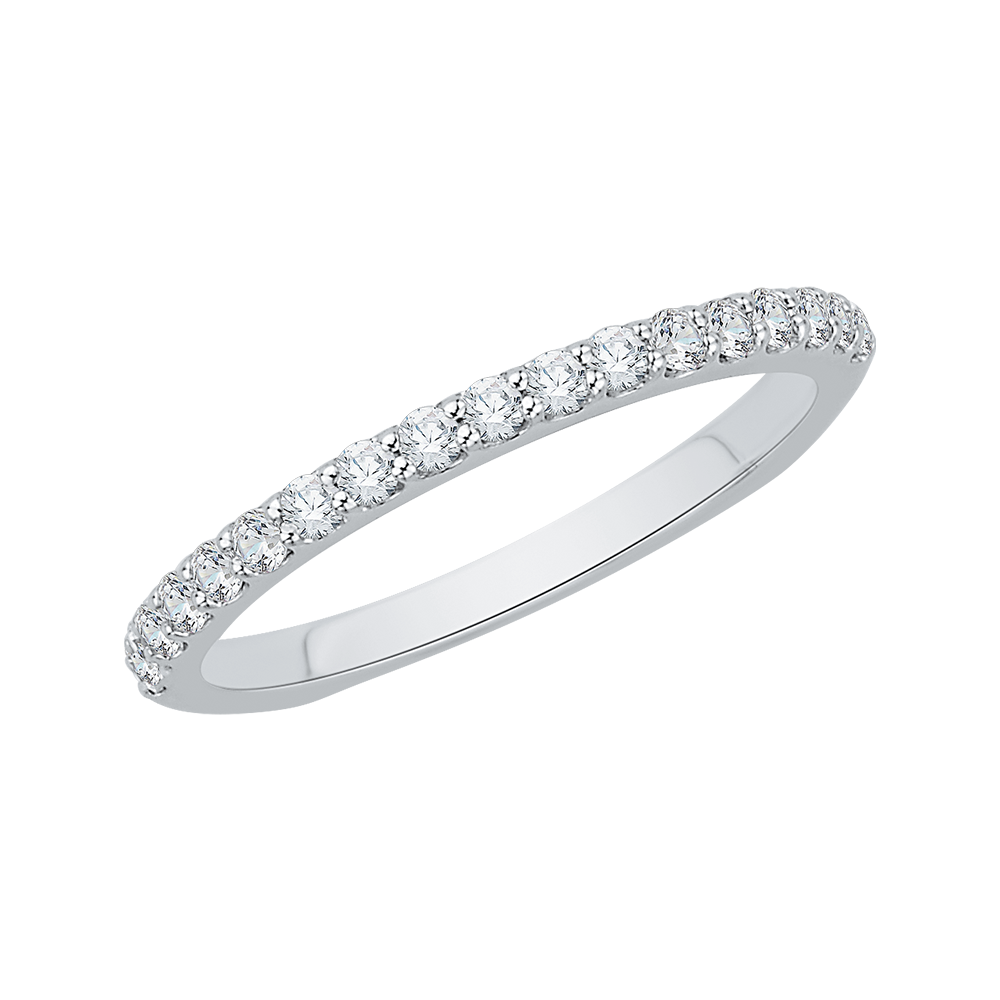 CA0034BK-37W  - 0.33 ct. Set In 18K White Gold.  List Price: $1,375    Our Price: $1,099