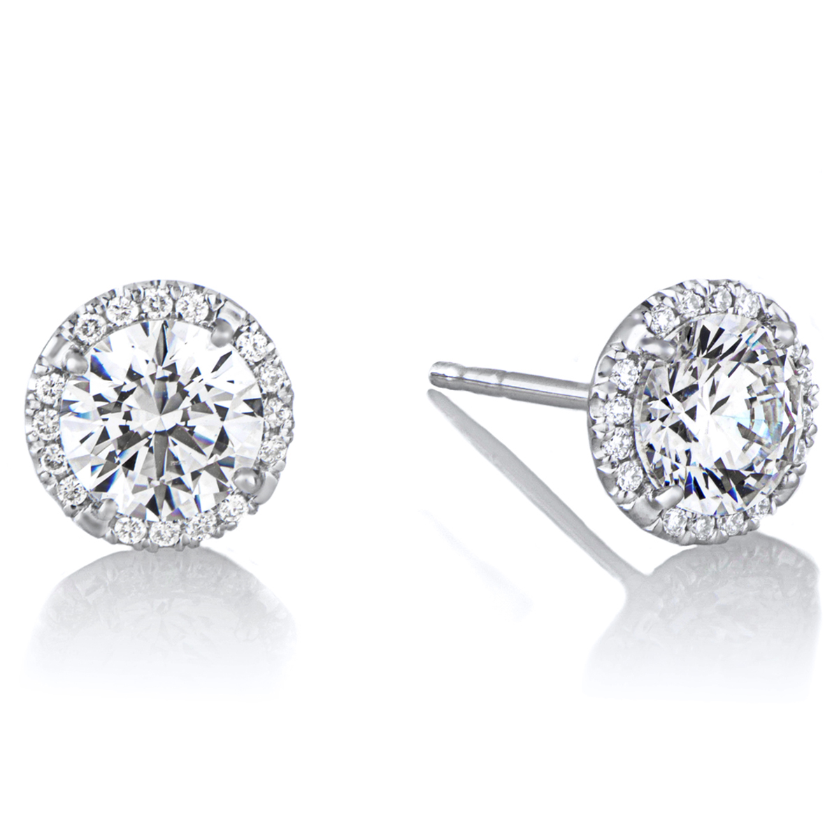 April Birthstone Stud Earrings  List Price: $135    Our Price $108