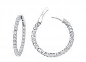 25mm Thin Hoop Earrings.    List Price: $205       Our Price: $164