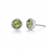 August Birthstone Stud Earrings  List Price: $135    Our Price $108