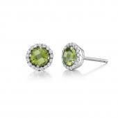 August Birthstone Stud Earrings.  List Price: $135    Our Price: $108
