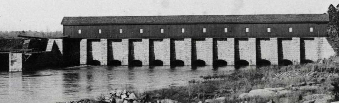 Columbia Canal Locks (1895) Russell Maxey Photograph Collection