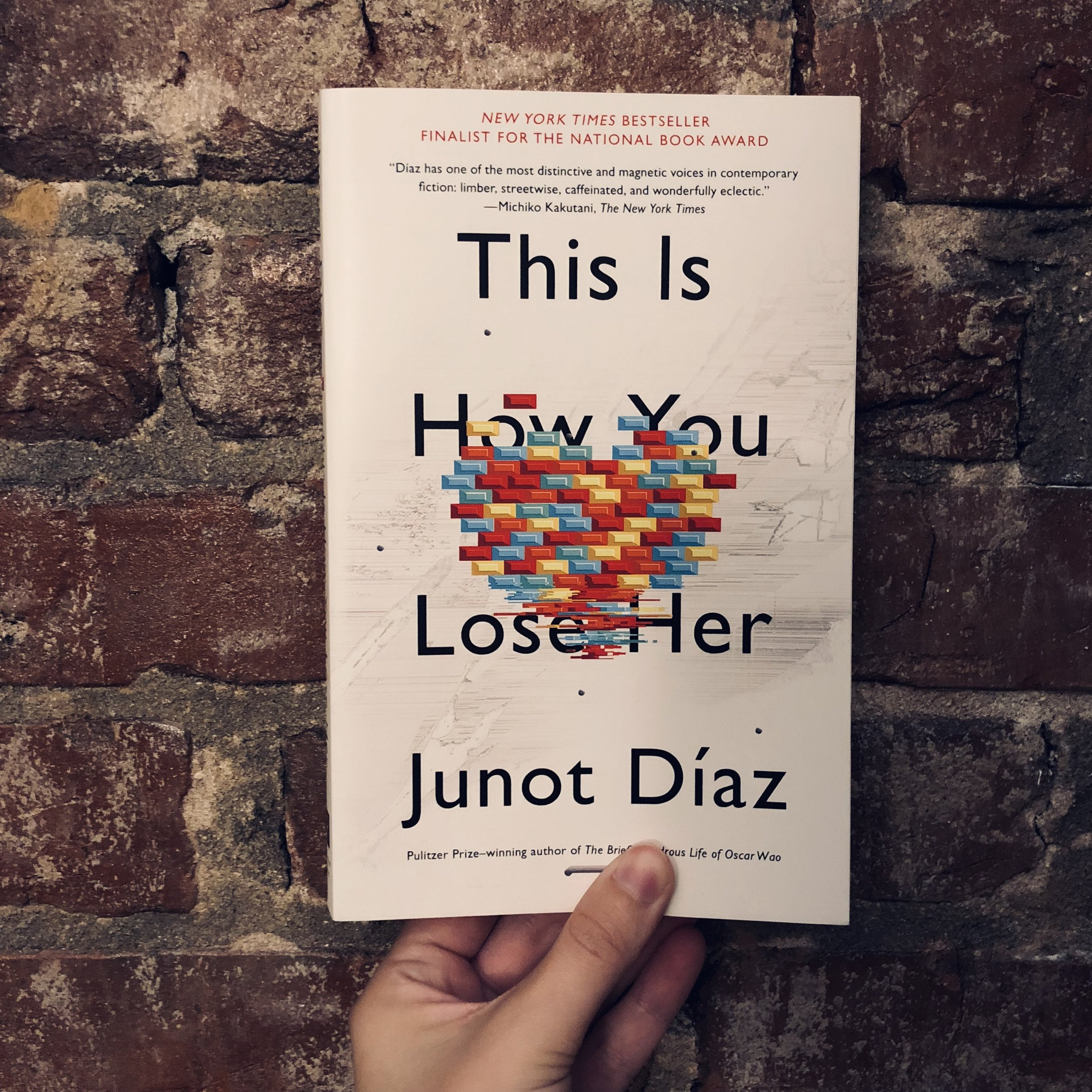 October's Book! - 'This Is How You Lose Her,' by Junot Díaz