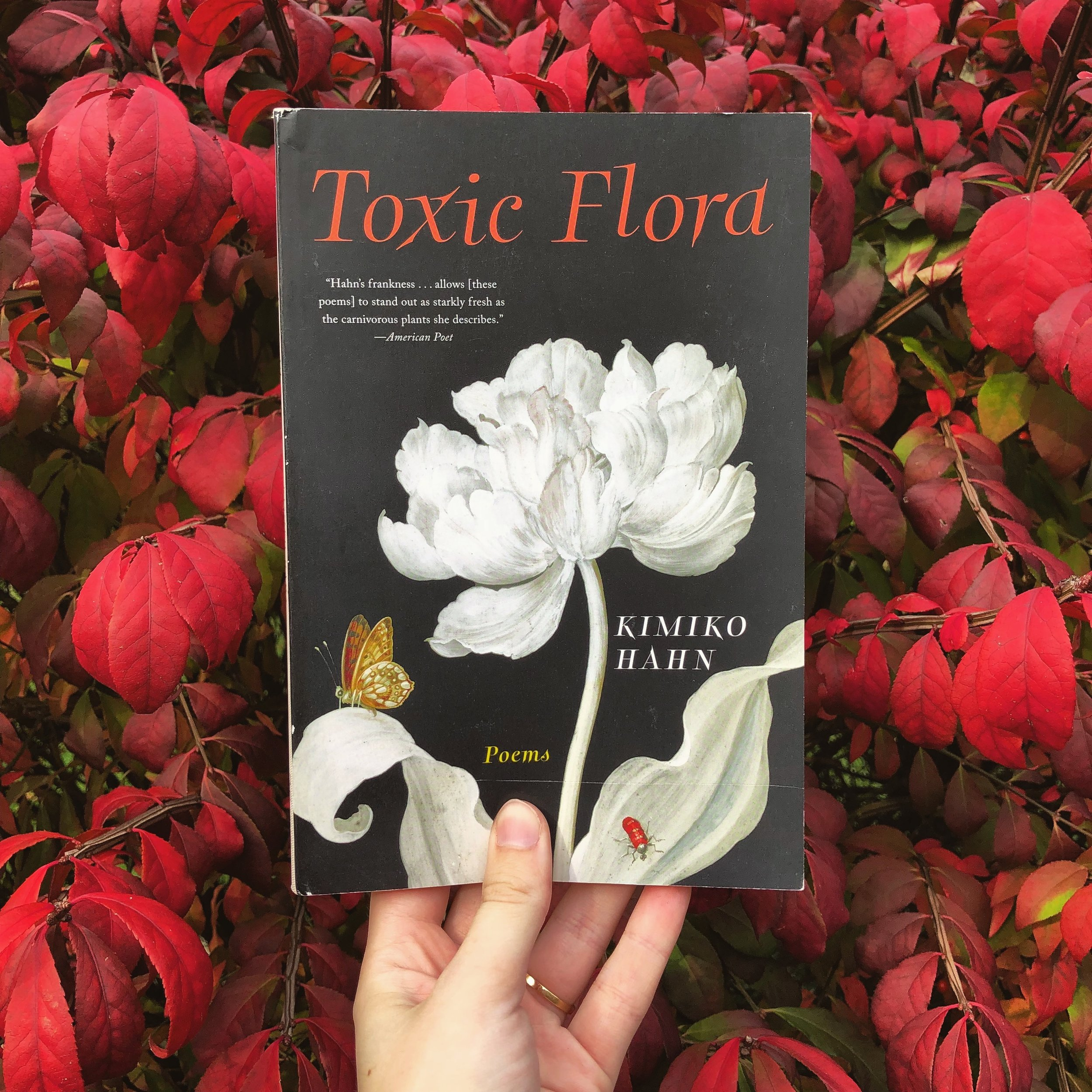 November's Book Review - 'Toxic Flora,' by Kimiko Hahn