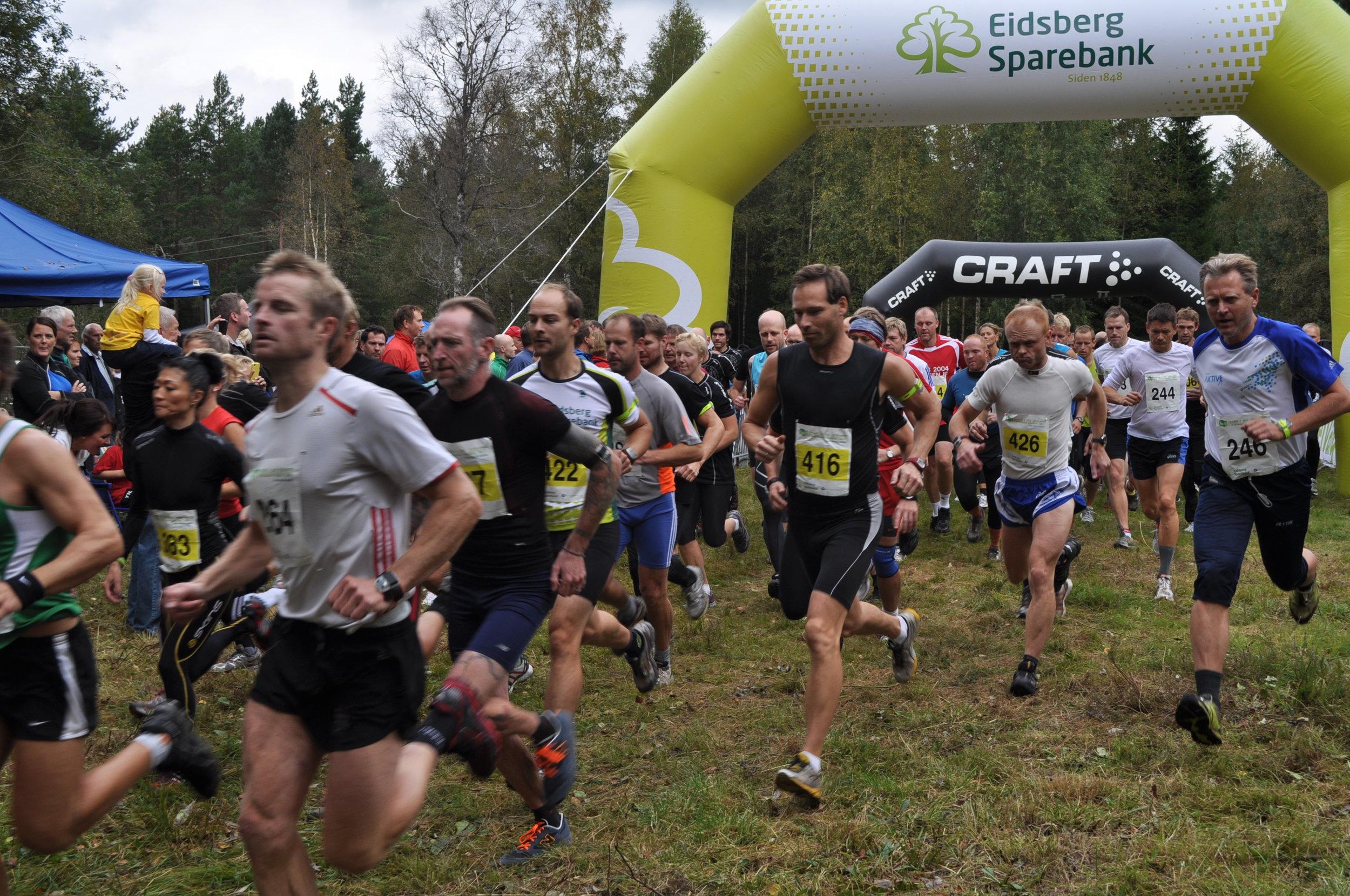 10 km rekorder: - Damer: Anni-Maija FinckeTid: 43:02 (2016)Herrer: Mattias Karlssonid: 37:07 (2014)