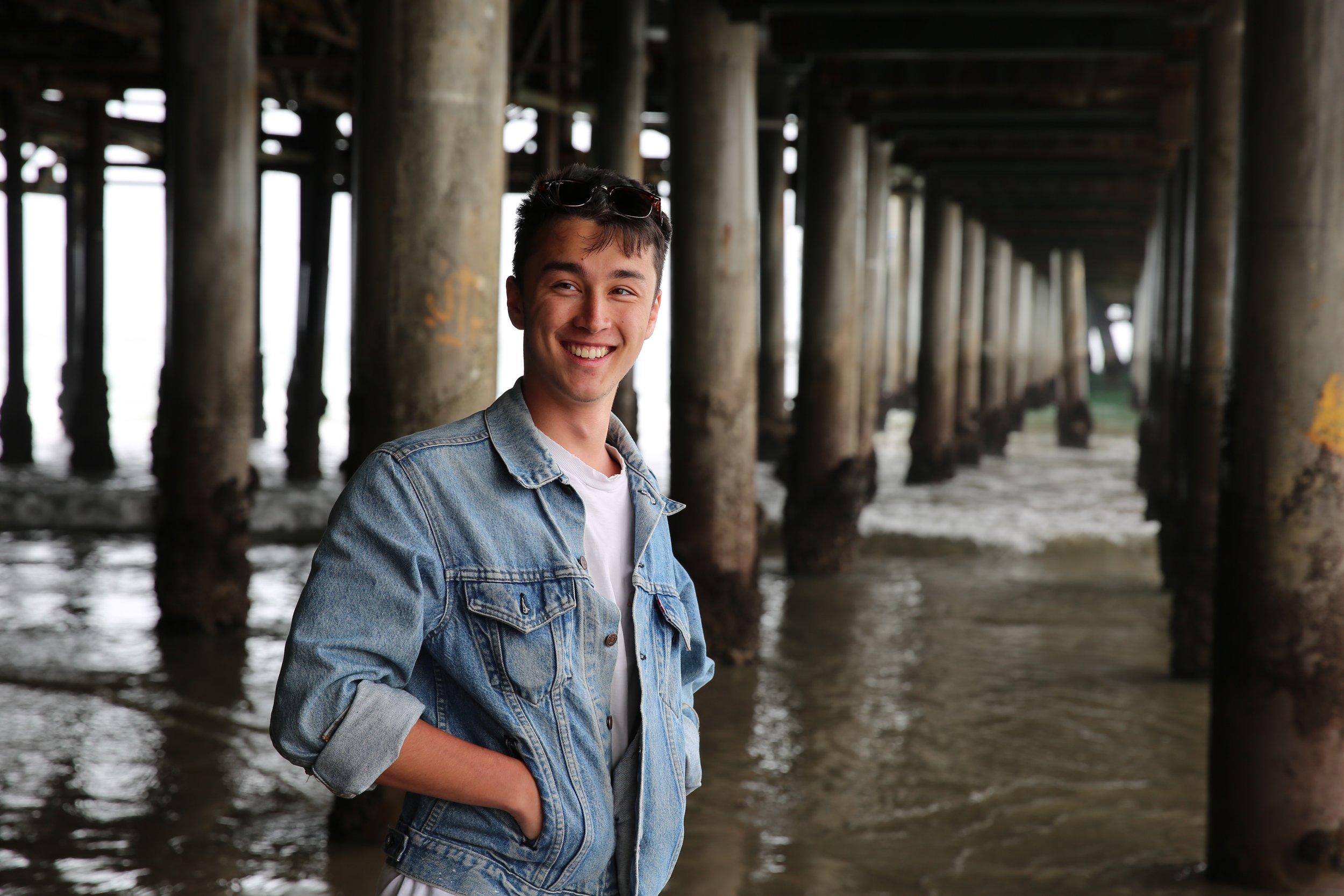 Thomas - Santa Monica Pier